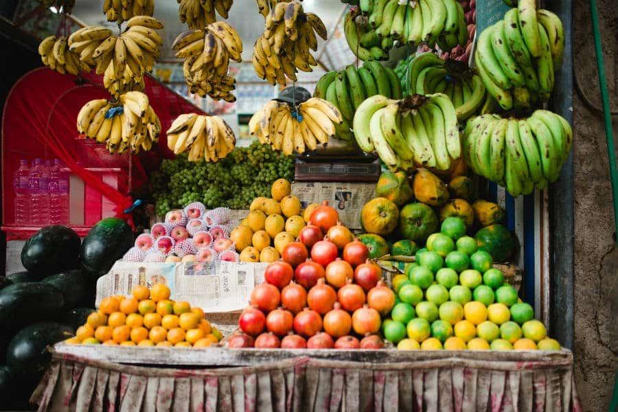 frutas são alimentos ricos em fibras alimentares