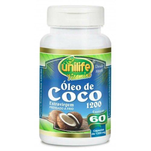 oleo de coco unilife capsulas prensado a frio