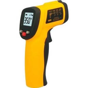Termômetro LASER Sensor Medidor Temperatura Digital Distância Faixa De Temperatura: -50 A 380ºC Tem