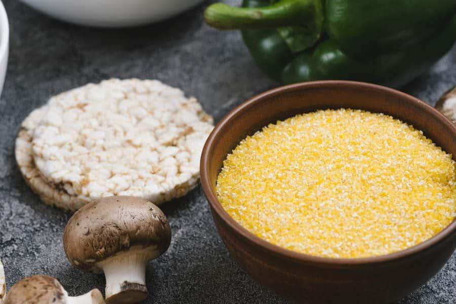 farinha de milho é low carb