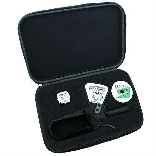 Adipômetro - Plicômetro Clínico Com Planilha De Avaliação E Trena - Cescorf