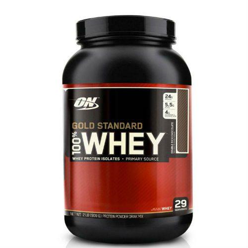 Whey Protein Gold Standard 100% Rich Chocolate - Optimum Nutrition