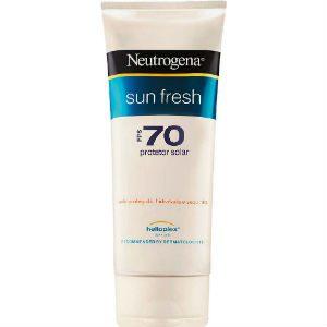 melhores protetores solares neutrogena sun fresh