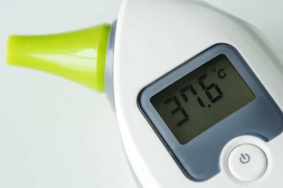 qual o melhor termômetro para bebê