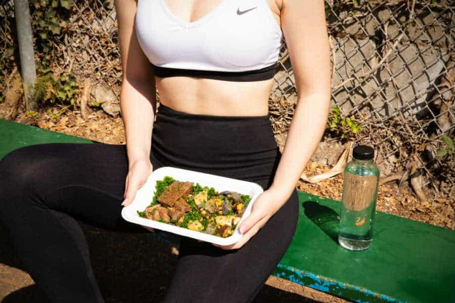 refeição pré-treino