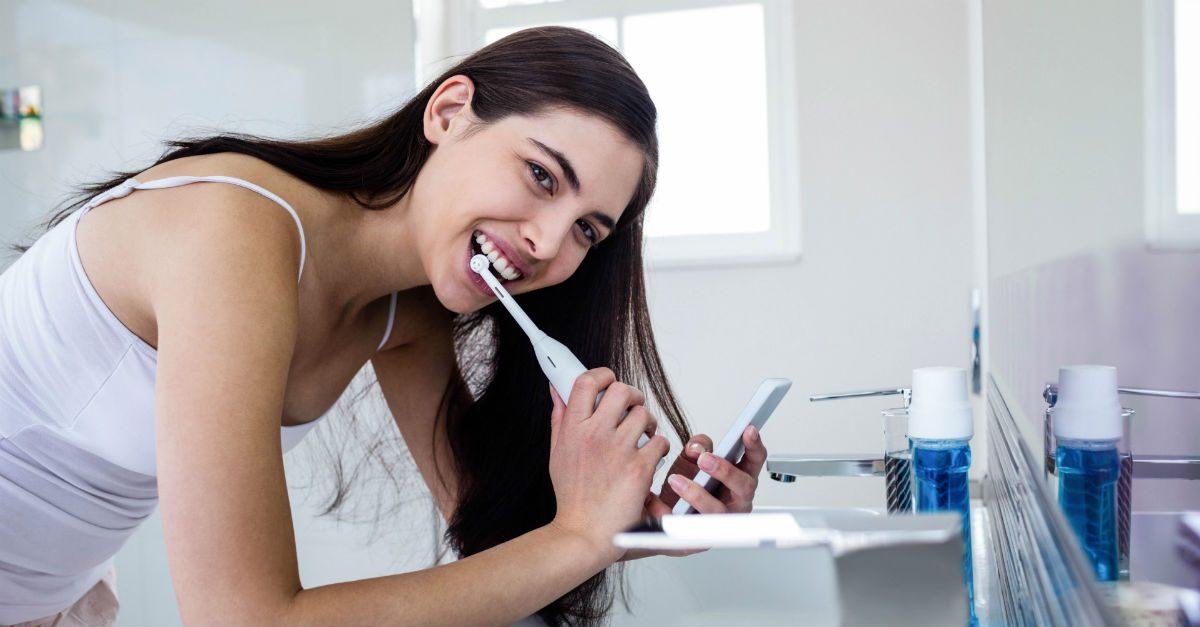 escova de dente elétrica boa