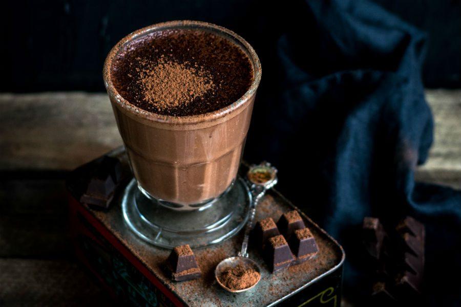 mousse de chocolate amargo fit