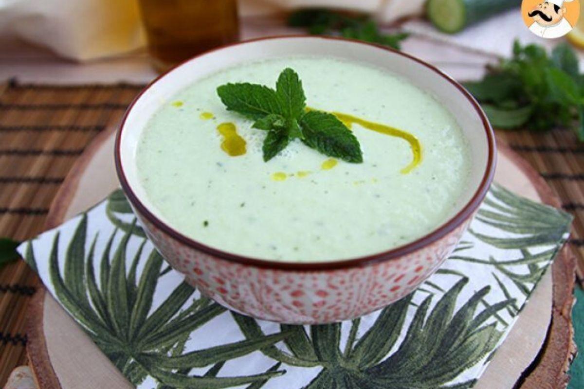receitas de sopa com pepino