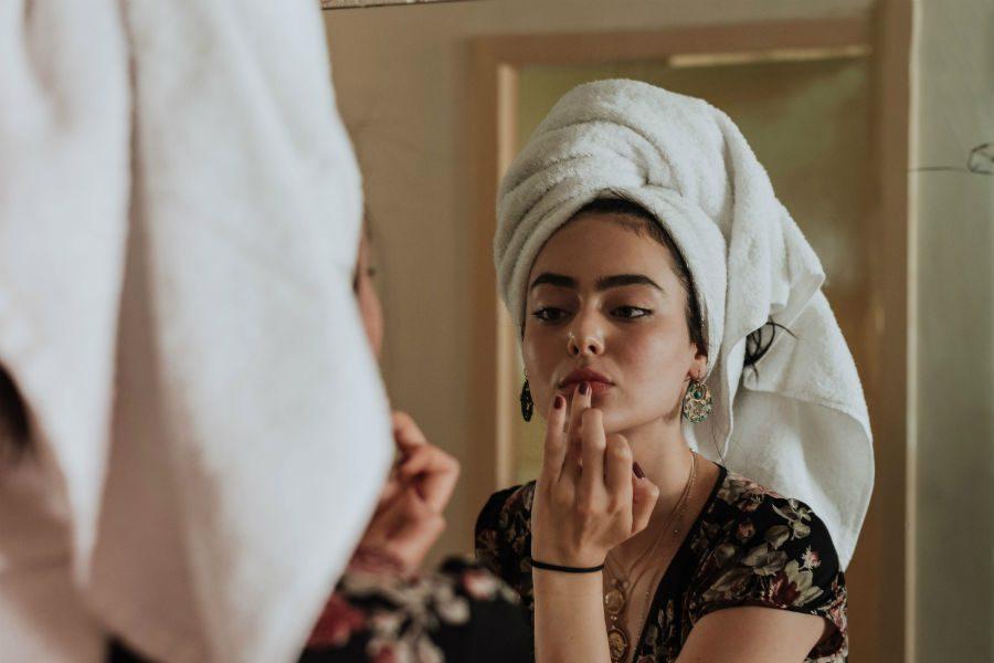 como deixar a pele bonita