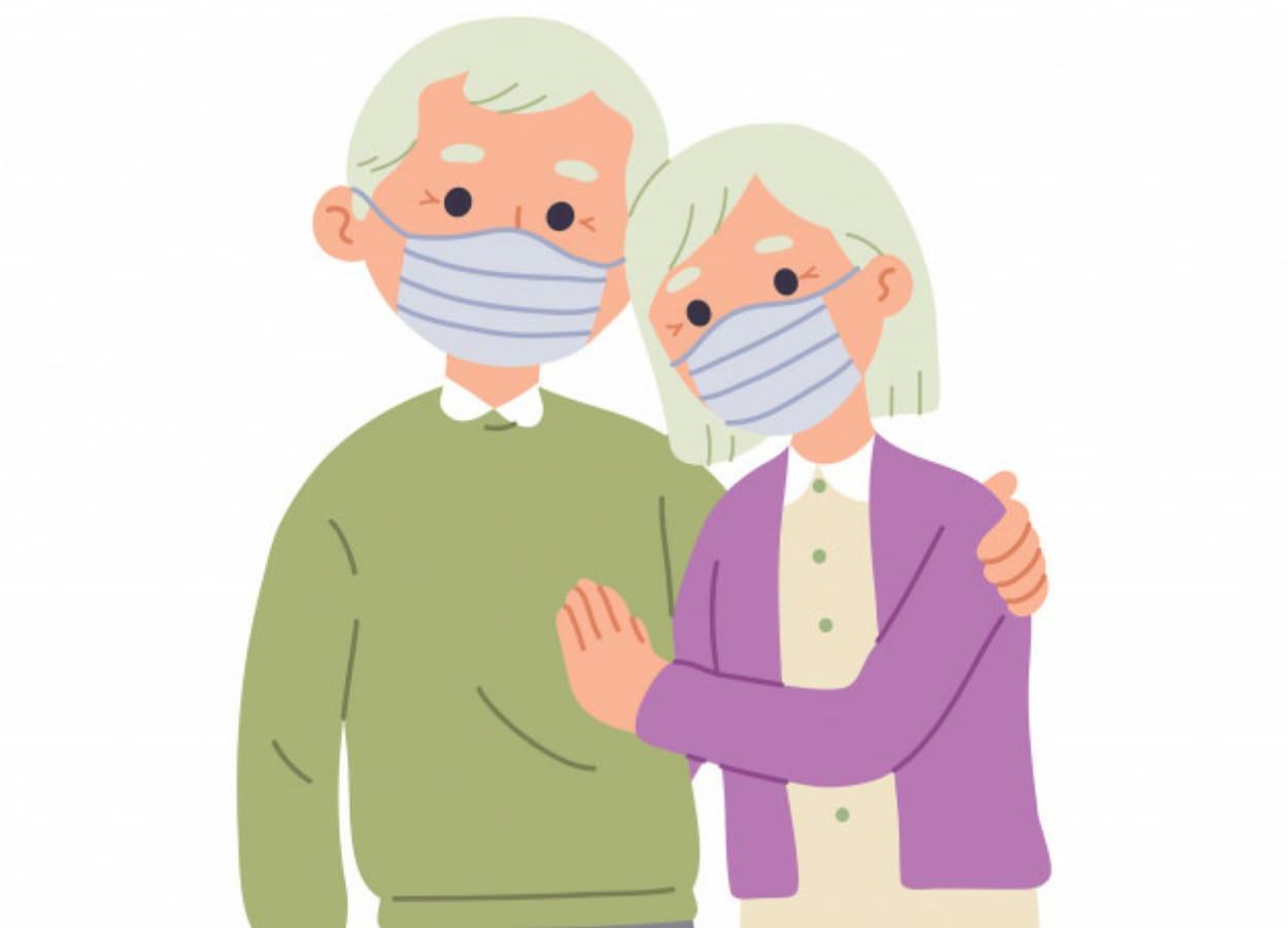 A COVID-19 está vitimando fatalmente pessoas com faixa etária acima de 60 anos