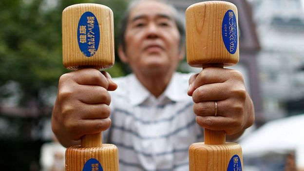 Baixa atividade no Japão / Fonte: BBC