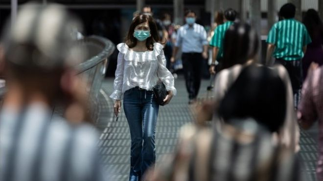 População em meio à pandemia / Fonte: BBC News Brasil