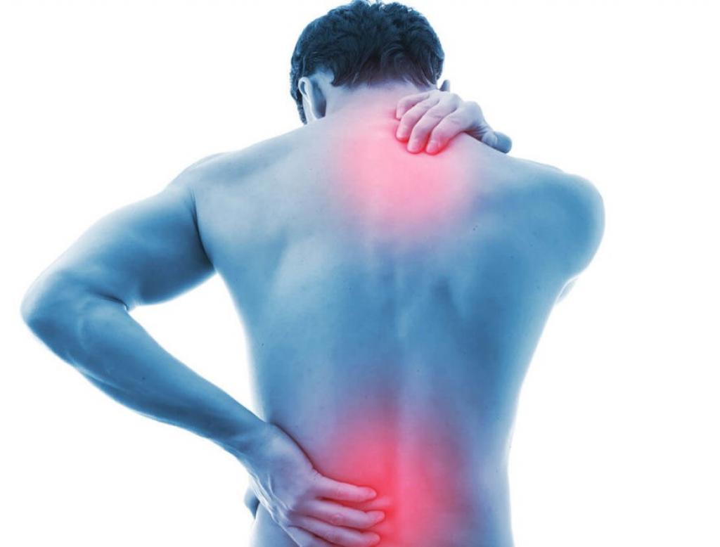 Dor nas costas / Fonte: Reprodução da internet