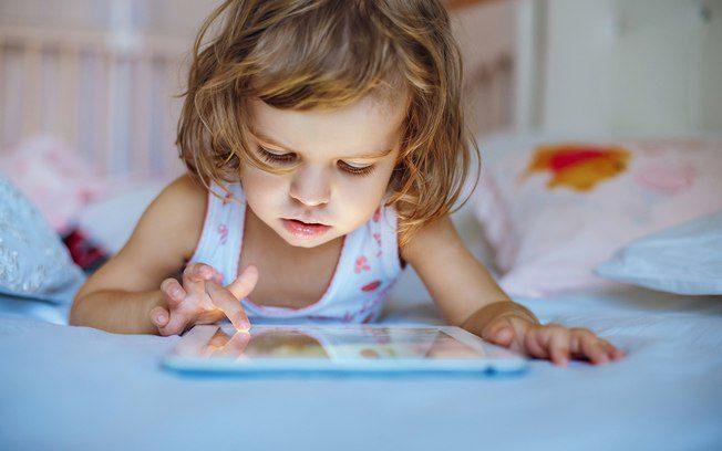 tempo de tela para crianças